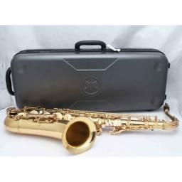 Sax Tenor Yamaha Yts275 Intermediário Com Fá# Agudo Laqueado Usado