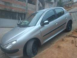 Peugeot 206 1.0 ano 2004 completo - 2004