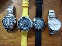 Relógios originais de marca