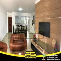 Título do anúncio: Apartamento com 3 dormitórios para alugar, 70 m² por R$ 2.400/mês - Bessa - João Pessoa/PB