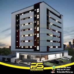 Apartamento com 2 dormitórios à venda, 59 m² por R$ 340.000 - Cabo Branco - João Pessoa/PB