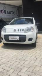 Fiat uno Vivace 1.0 Branco flex 2016