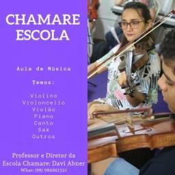 AULA VIOLINO - ESCOLA CHAMARE
