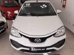Estado de Zero. Toyota Etios XS 1.5 Hatch - 2018 - Completo