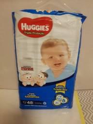 Vendo Fraldas Huggies G