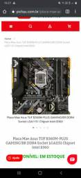 PLACA MÃE TUF B360M-PLUS GAMING - INTEL