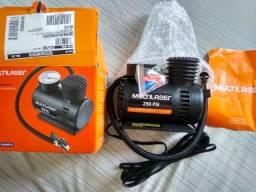 Minicompressor Multilaser 250 PSI Novo