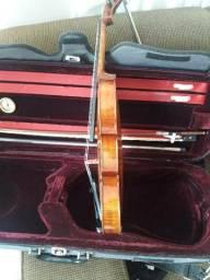 Vendo violino americano com Kase de luxo