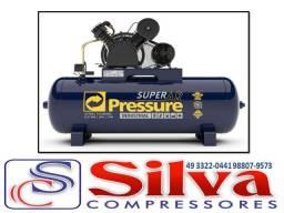 Compressor ar 20 pés 200 litros 175 libras Pressure
