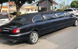 Jaguar Limusine X Type 2002 V6 - Pronta para trabalhar em eventos!