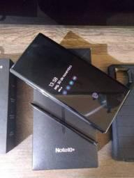 Samsung Note 10+ Plus 256 GB 12 RAM impecável completo com nota fiscal + brindes.