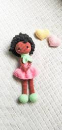 Boneca Julia Amigurumi (em crochê)