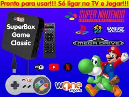 Video Game Retro Classic / SNES, NES, GBA, MasterSystem, MegaDrive e Arcade