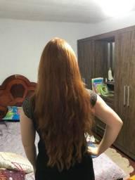 Aplique de cabelo humano
