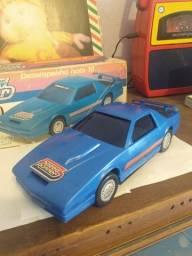 Carrinho Speed Runner Glasllite anos 80 ( com caixa /