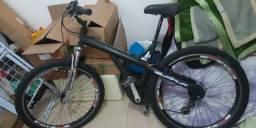 Bicicleta Caloi quadro de Alumínio