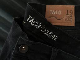 Calça jeans TACO SYSTEM masculina TAM 42