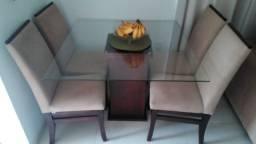 Mesa de vidro (usada)