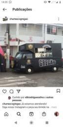 food truck trailer churrasco