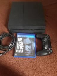 Playstation  4 FAT 500GB  COM TLOU 2