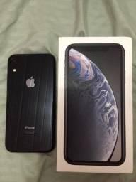 IPhone Xr 128GB Preto Anatel, com caixa e todos os acessórios originais Apple