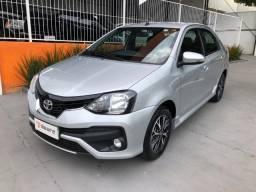Toyota/etios sedan platinum automático 2019