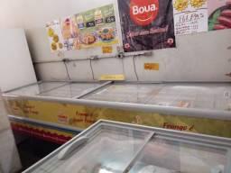 ilha congelador  de mercado