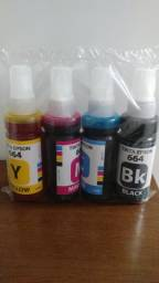 Tinta Epson 644 664 KIT 100 ML 4 cores Alto rendimento