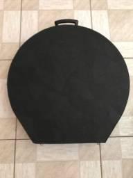 Case de Prato de Bateria - Bag de Madeira