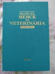 Livro Manual Merck de Veterinária 8 Edição - A Bíblia ou o Vade Mecum da Veterinária.