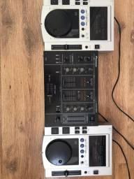 Cdj 100s + Mixer Djm 300 Pioneer