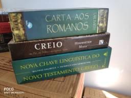 Livros teológicos - evangélicos