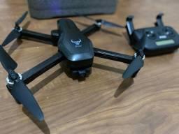 Drone semi-profossional com câmera 4k - voa 1.2km, bateria 25min, estabilizador dois eixos