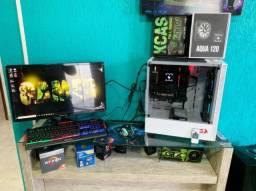 Pc Gamer Monstro - Roda Tudo!!! - I5-9400F - 16GB - Nvme 128GB + HD 3TB Seagate 7200RPM