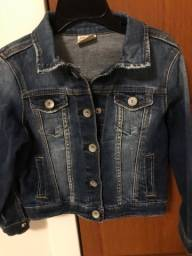 Jaqueta jeans Zara tamanho 5