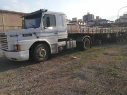 Scania 112 hw 1990 + carreta