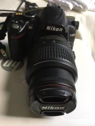 Câmera nikon d3000 1.200