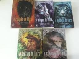 5 livros Saga do Tigre