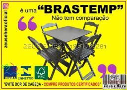 Título do anúncio: Compre Produtos Certificados - Mesa Bar 70x70 com 4 Cadeiras - Compre Conosco!