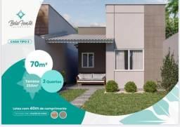 Excelentes Casas  Planas de 70m² no Eusébio...