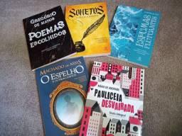 Livros literatura clássica + questões comentadas