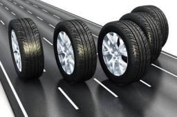 pneus loucos na pista