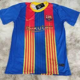 Camisa Barcelona (p ao GG) entrega gratuita para toda João pessoa