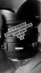 Lente Sigma 50mm 1.4