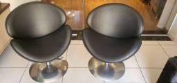 Conjunto duas poltronas cinza