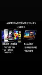 Assistência técnica em celulares e computadores