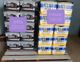 baterias a base de troca novas com garantia