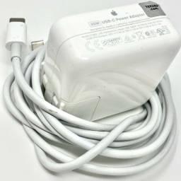 carregador adaptador apple mac book air 30w usb-c a1882 / a1932