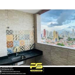 Apartamento com 3 dormitórios à venda, 116 m² por R$ 450.000 - Tambauzinho - João Pessoa/P