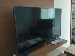 "Smart tv aoc roku tv led 43"""